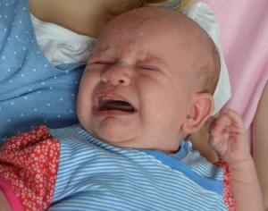 onrustige baby